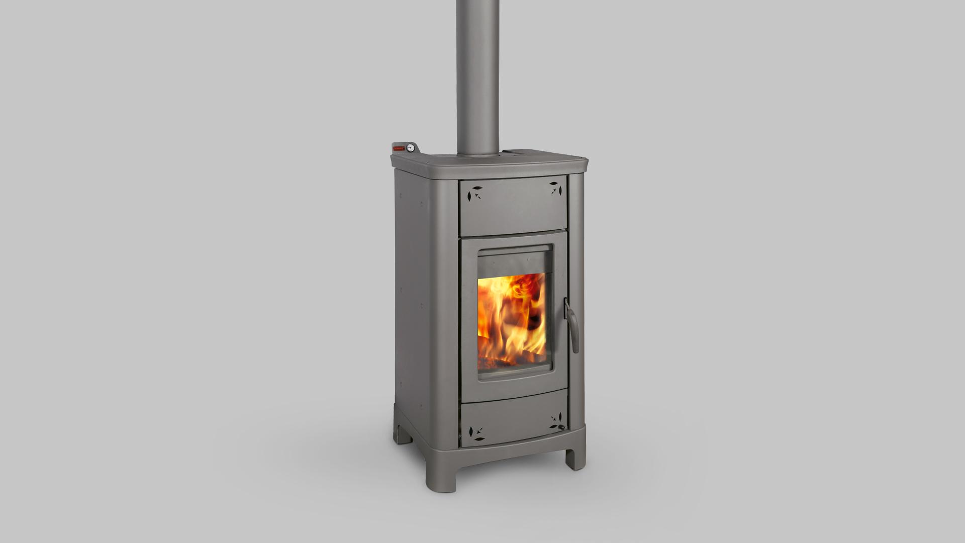 Termostufa a legna thermorossi modello ardhea easy 30 7 kw - Stufe a legna occasione ...