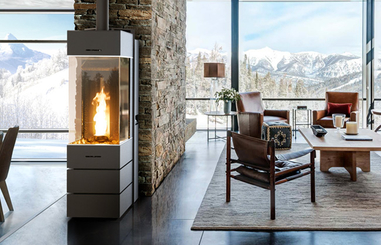 THERMOROSSI pellet stoves, living comfort and excellent ...