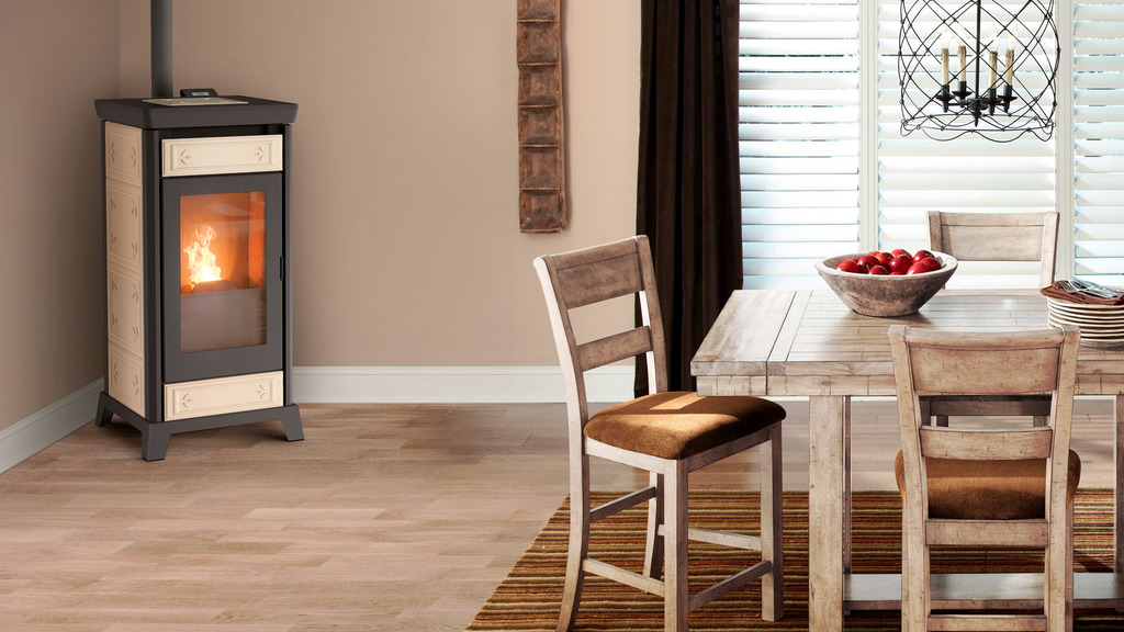THERMOROSSI pellet stoves, living comfort and excellent energy savings.